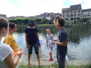 Riesencluedo in Morêt-sur-Loing