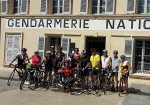 Mittagstreff von der Gendarmerie von St. Tropez